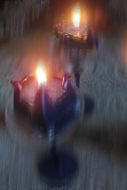Свеча, отражение - veera (veerra)
