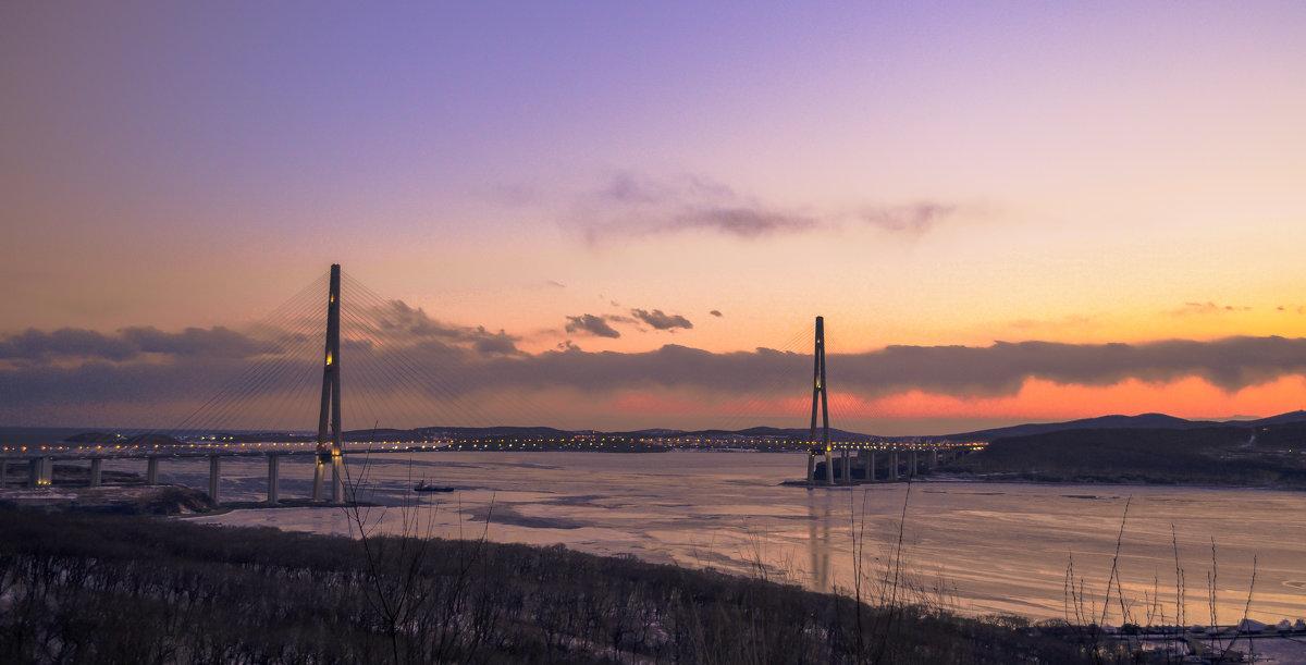 Владивосток мост на о.Русский - Наталья Цыпцына