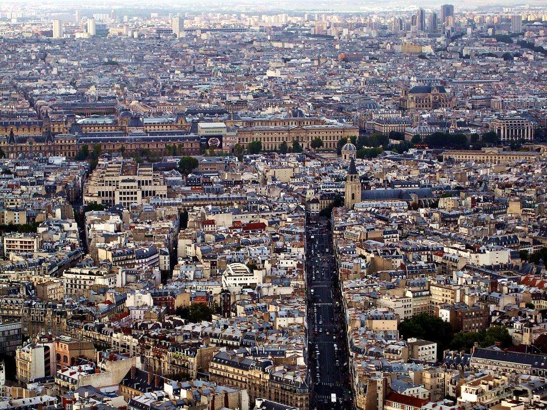 Париж, вид сверху - Александр Корчемный