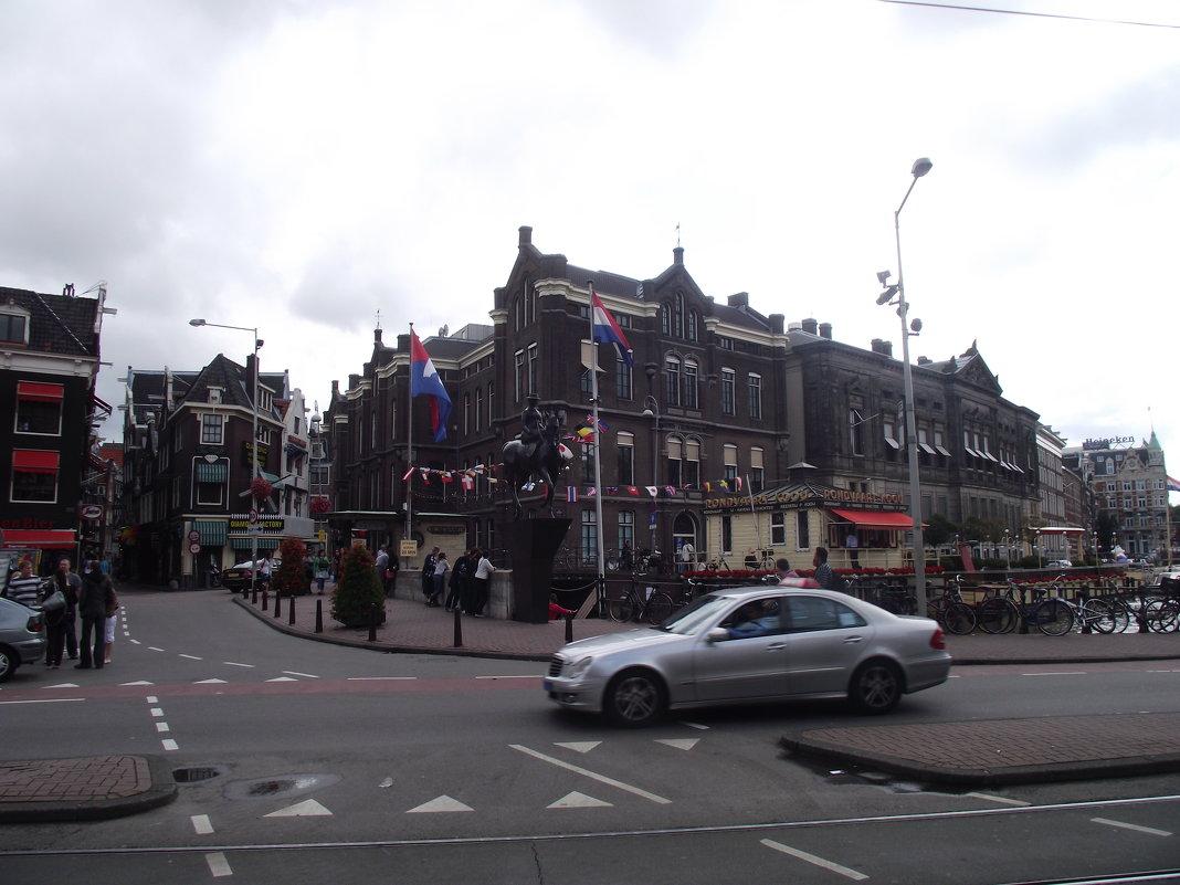 Амстердам. Главная площадь. - шубнякова