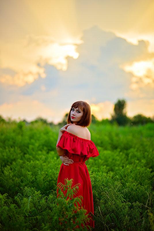 Летний закат - Евгения Клепинина