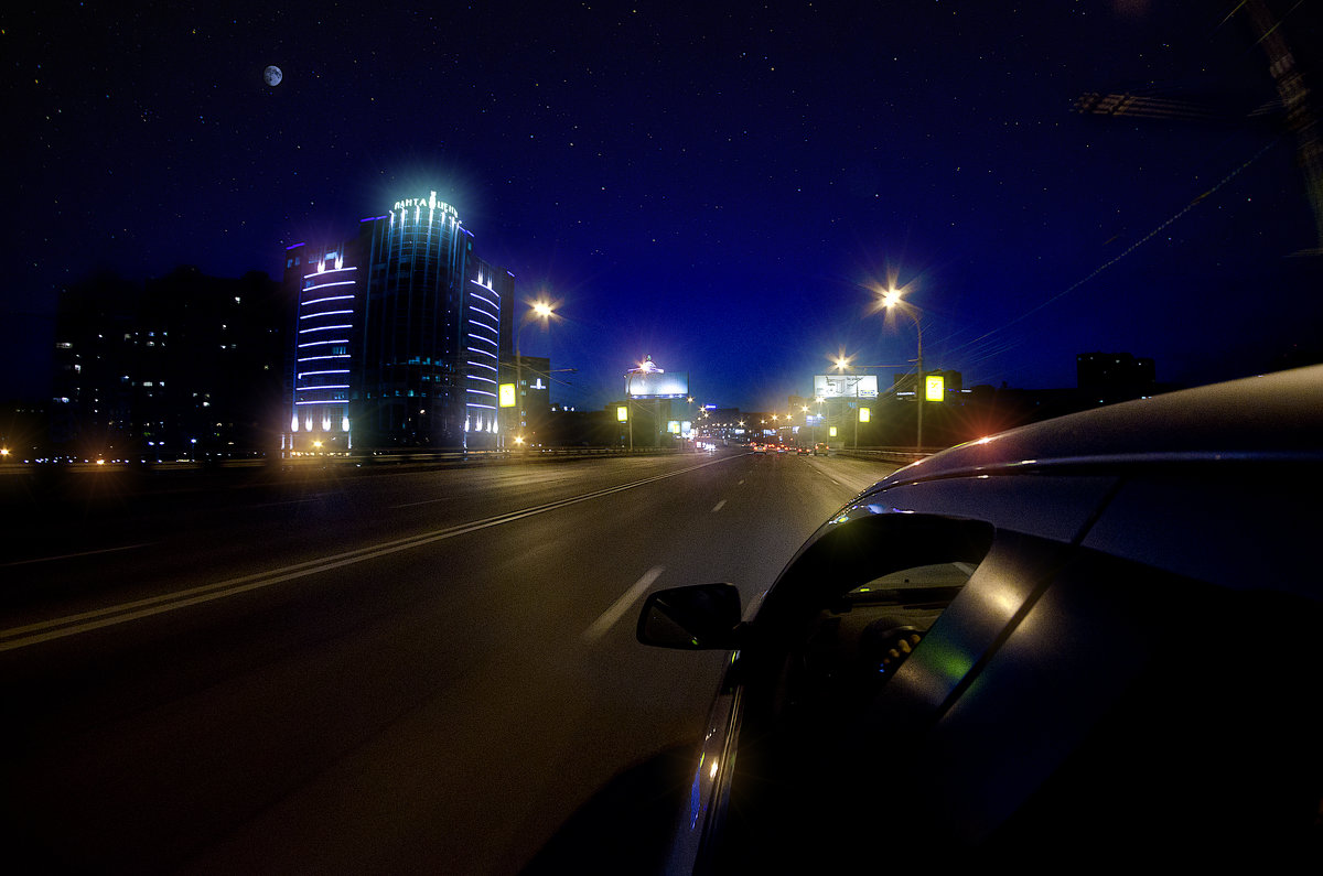 Through the city of nights - Сергей Nikon