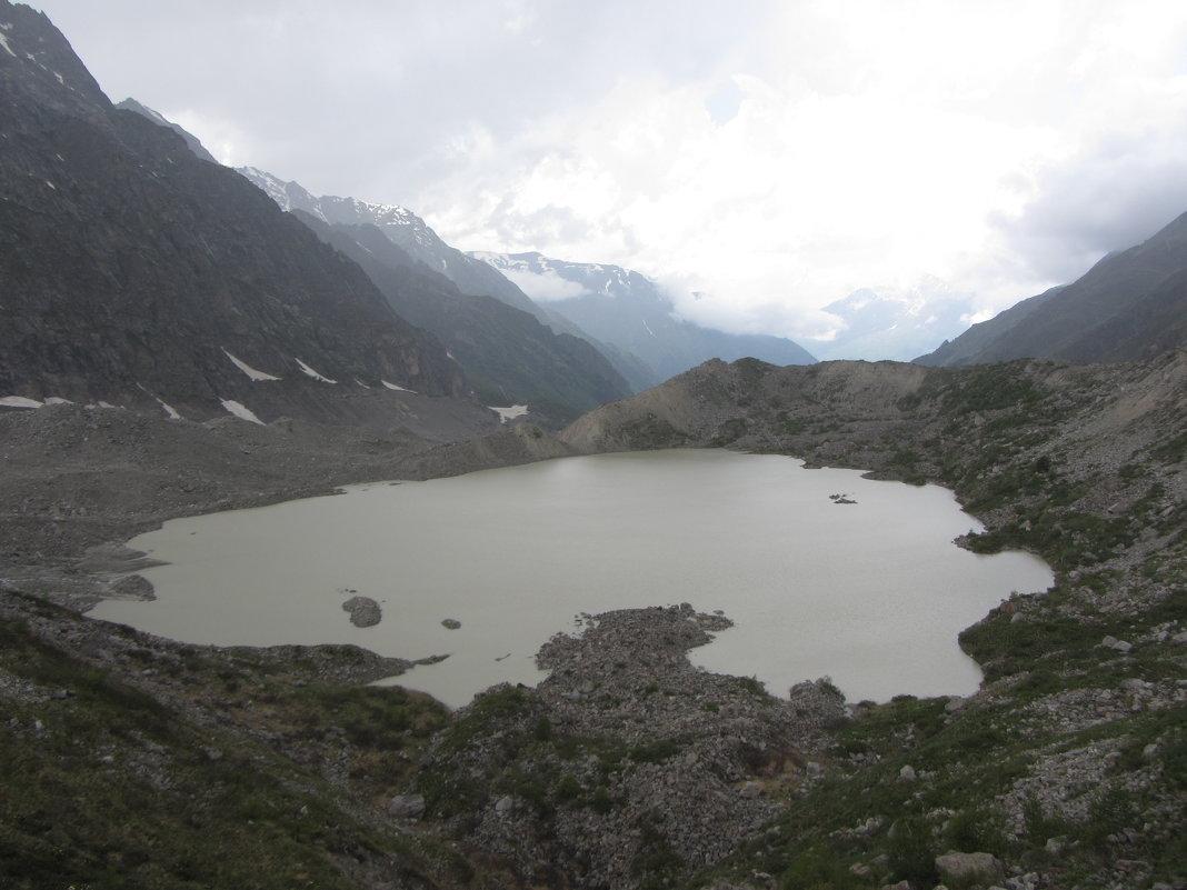 Озеро с ледника - Виталий Купченко