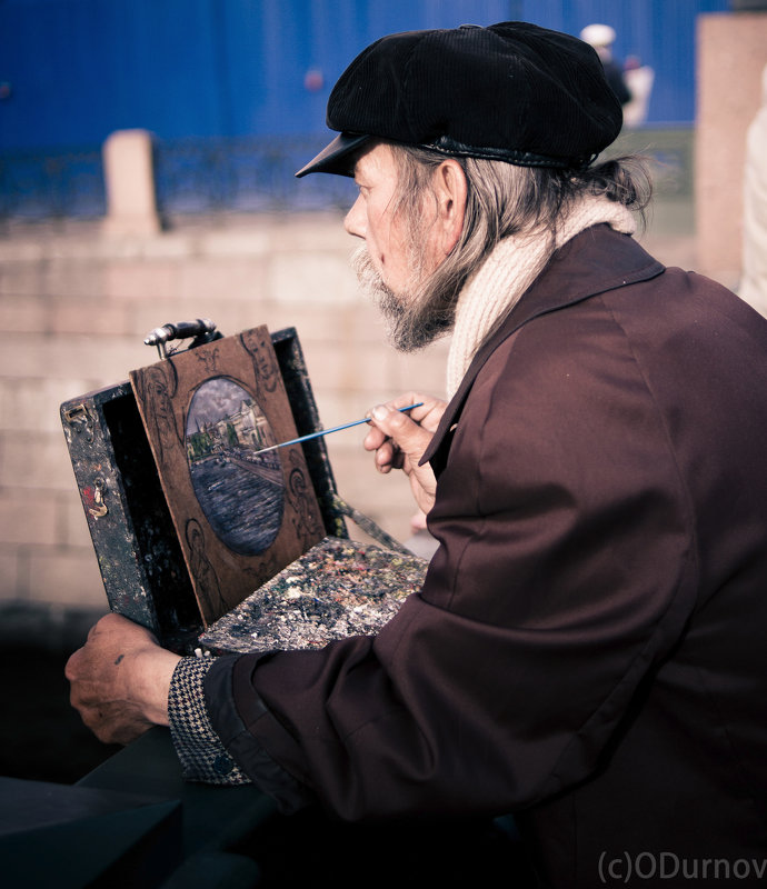 Вдохновение на Аничковом мосту - Олег Дурнов
