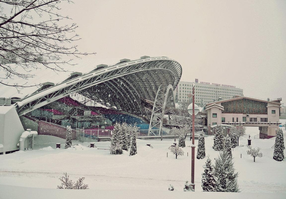 Витебск в снегу - Андрей Самуйлов