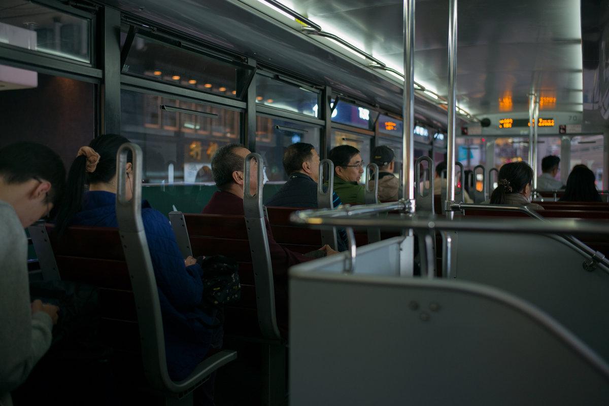 Гонконгский трамвай - Sofia Rakitskaia