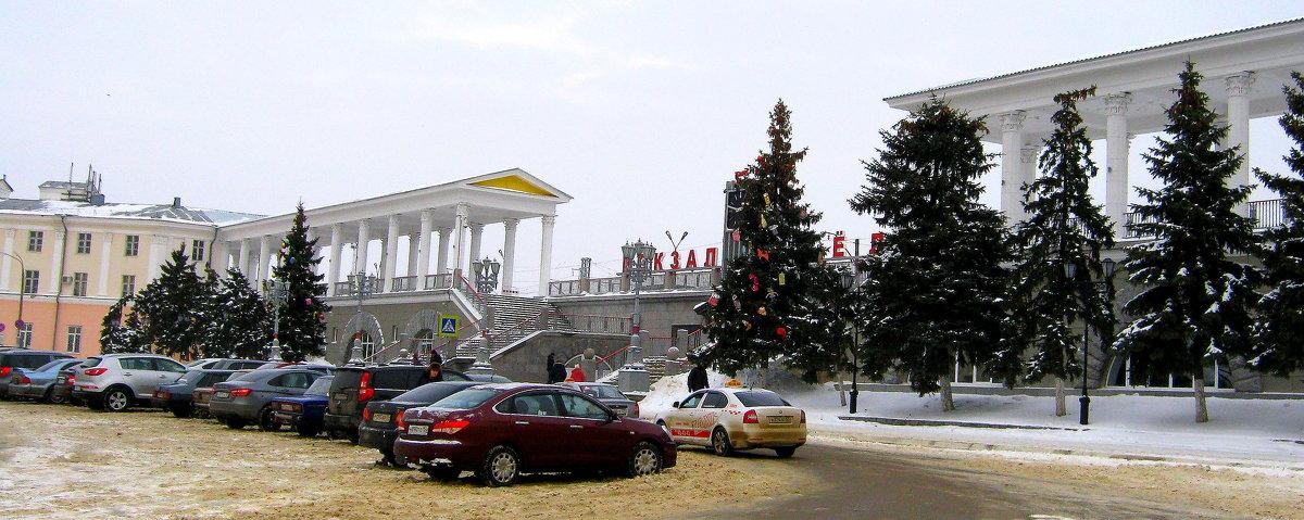 Вокзал станции Орёл. - Борис Митрохин