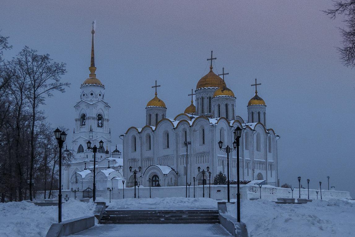 Успенский зимним утром - Сергей Цветков