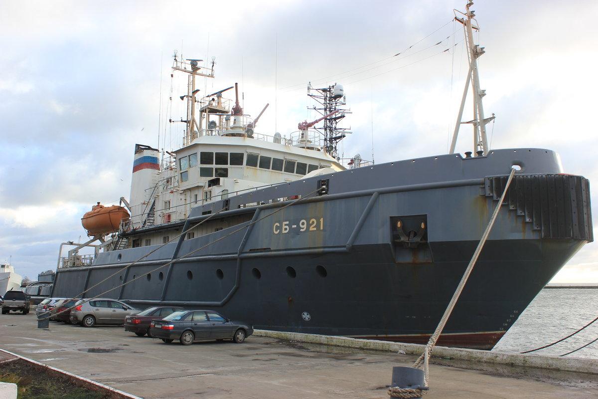 Самый западный порт России - Марина Домосилецкая