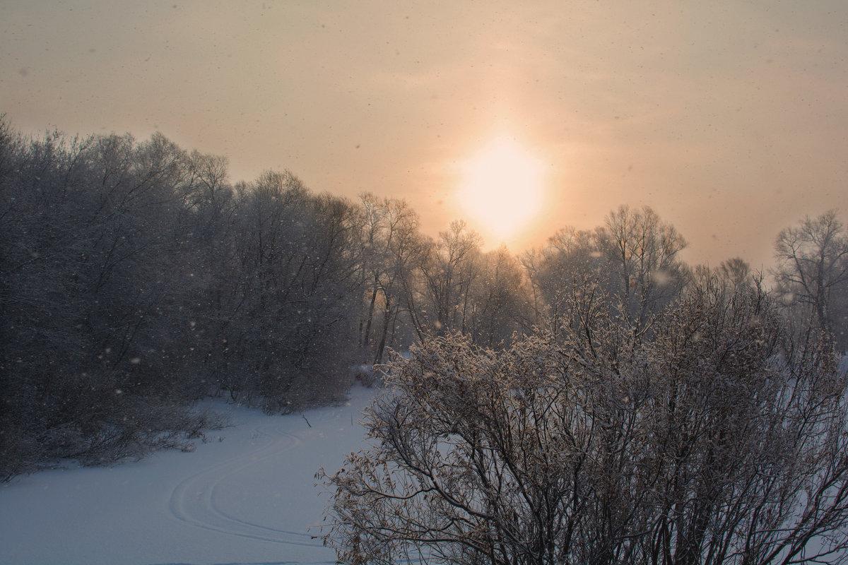 Зимний пейзаж - Михаил