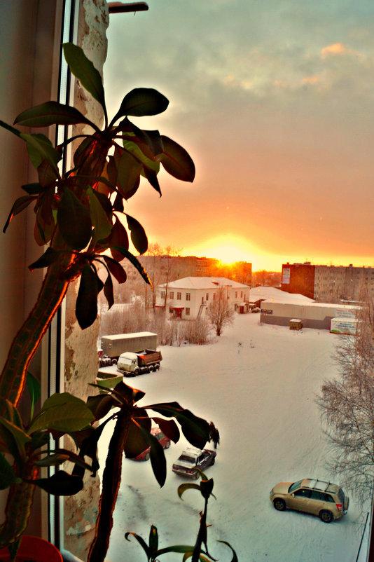 за окном зима и минус 26 градусов)) - Валерия Воронова