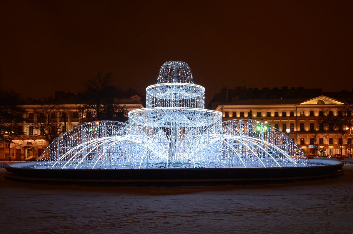 Новогодний фонтан - Наталья Левина