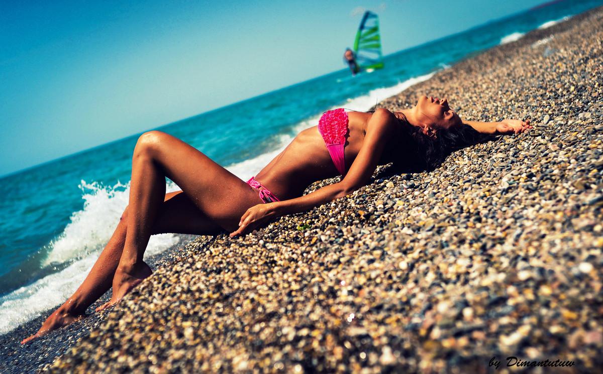 Как сделать красивое фото на море если ты полная 759