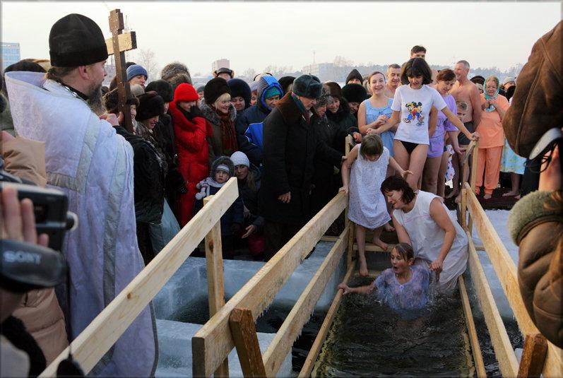 Крещенские купания - Андрей Пашис