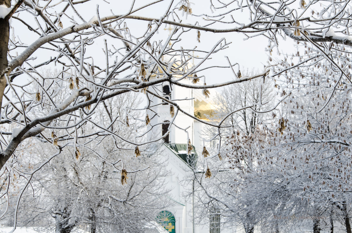 Зимний пейзаж - Руслан Тимошенко