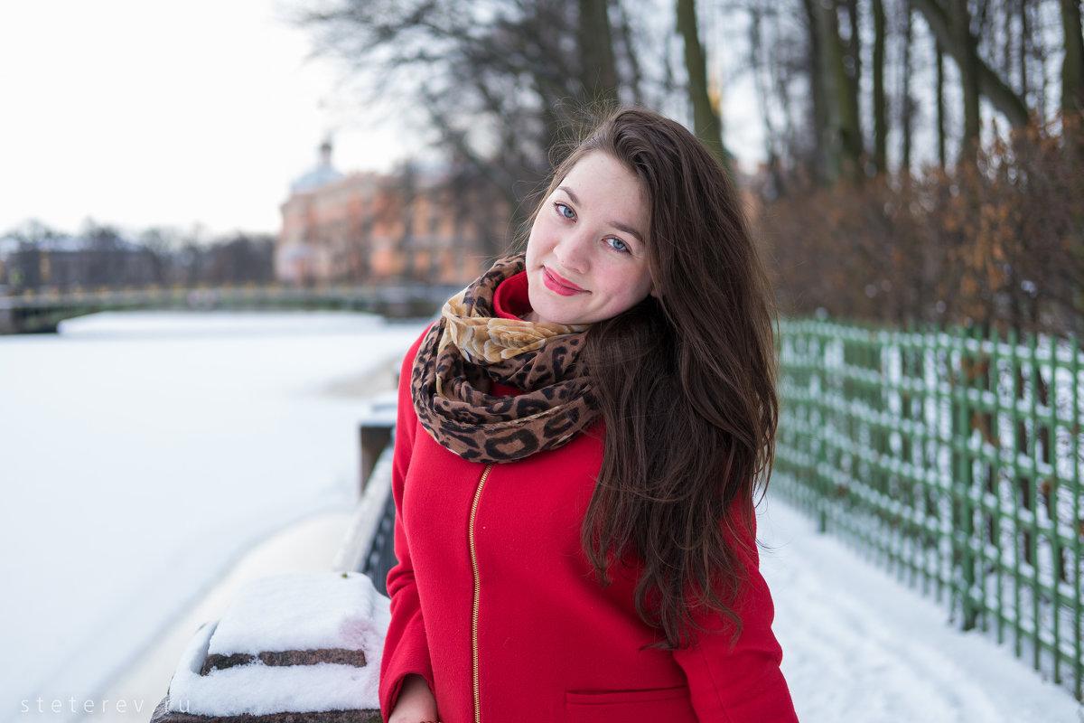 зимний портрет - Сергей Тетерев