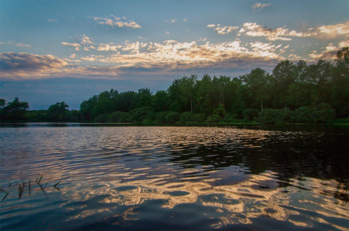 Закат на озере - Александр Березуцкий (nevant60)