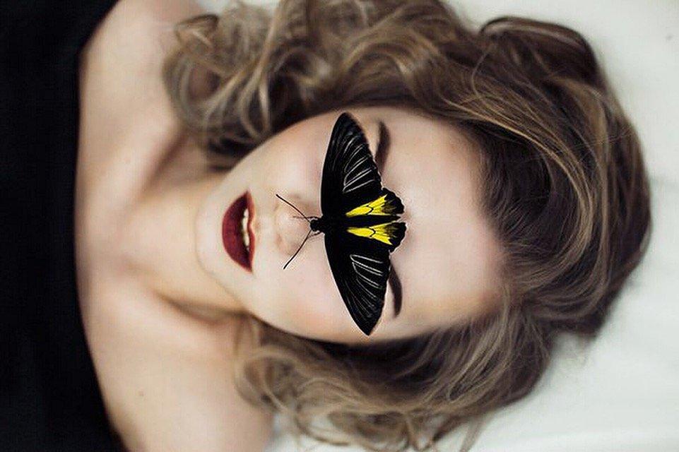 Девушка и бабочка - Alina