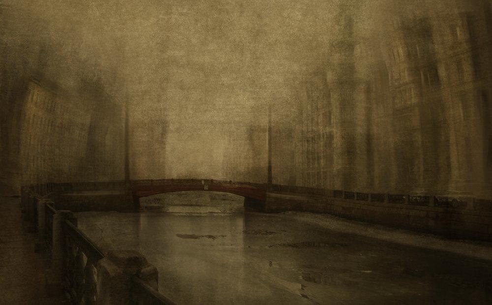 Санкт-Петербург. Красный мостик - Evgeny Kornienko