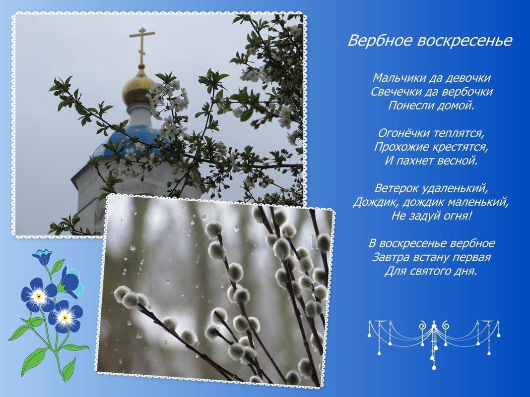 Открытки на воскресенье вербное воскресенье