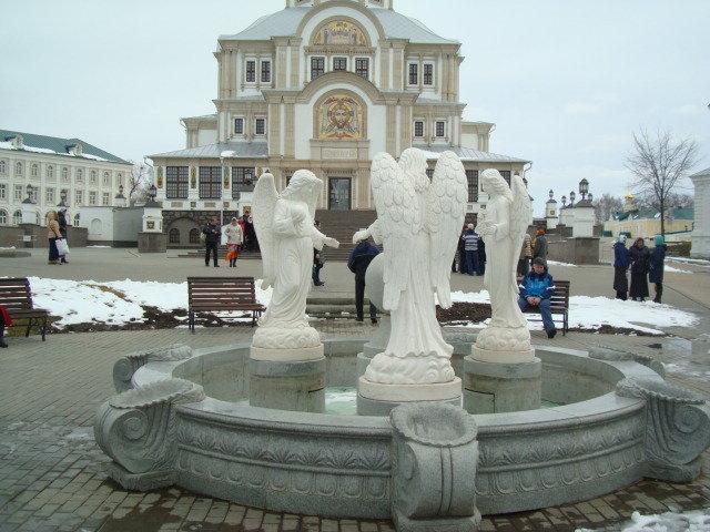 Снежное Дивеево в апреле - марина ковшова