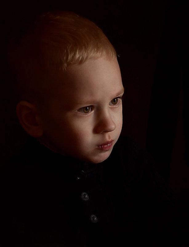 Портрет мальчика. - Ольга