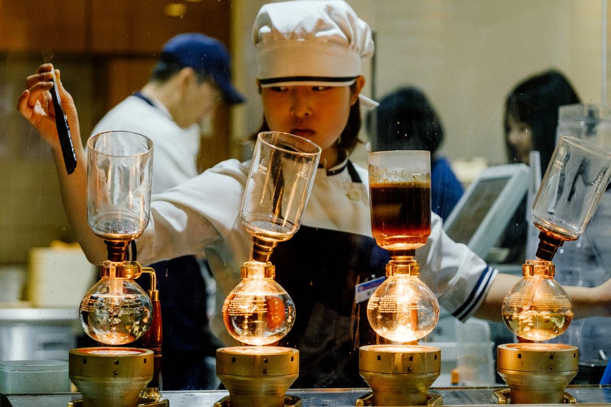 Приготовление кофе - Станислав Маун