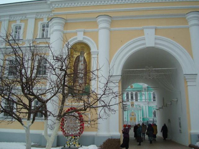 В Серафимо-Дивеевском монастыре - марина ковшова