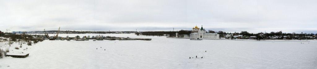 панорама Ипатьевский монастырь - Анна Воробьева