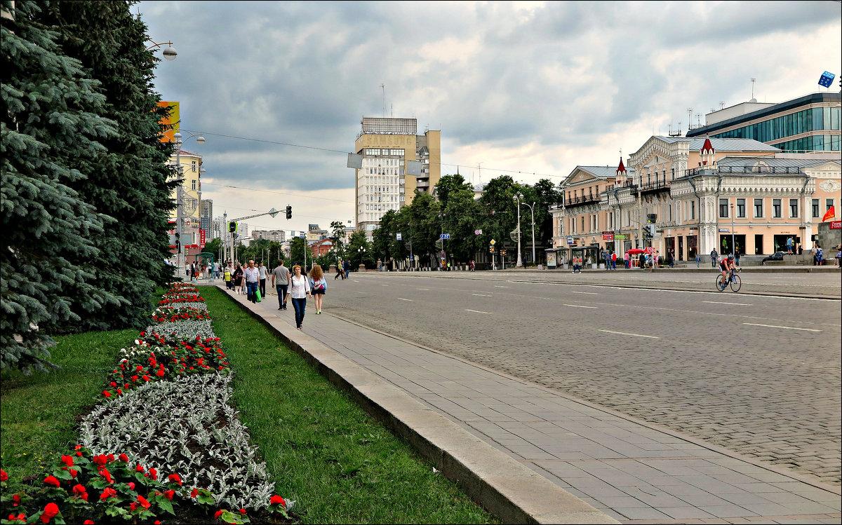 Летом в Екатеринбурге - Leonid Rutov