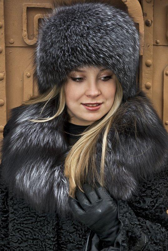 Реклама меховой одежды - Владимир Белозеров