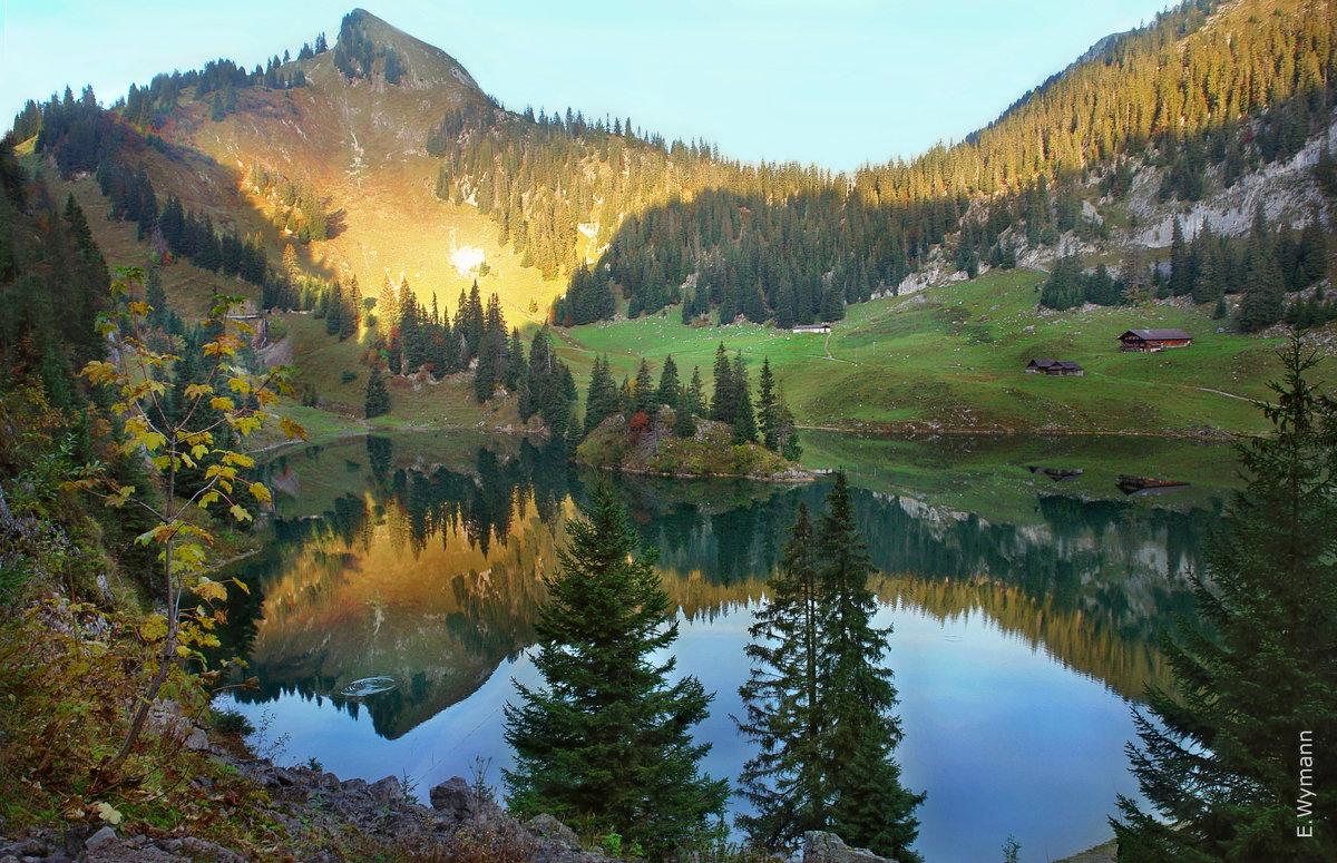 эта осень в горах, как одно волшебство - Elena Wymann