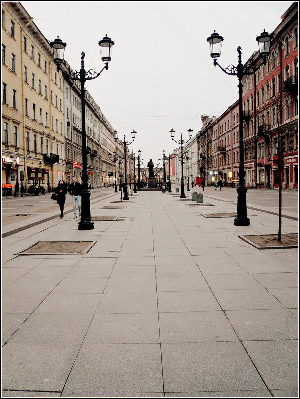 Малая Конюшенная улица - Galina Belugina