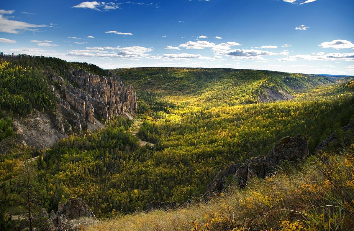 Палеозойский пейзаж - Maxim Unarov