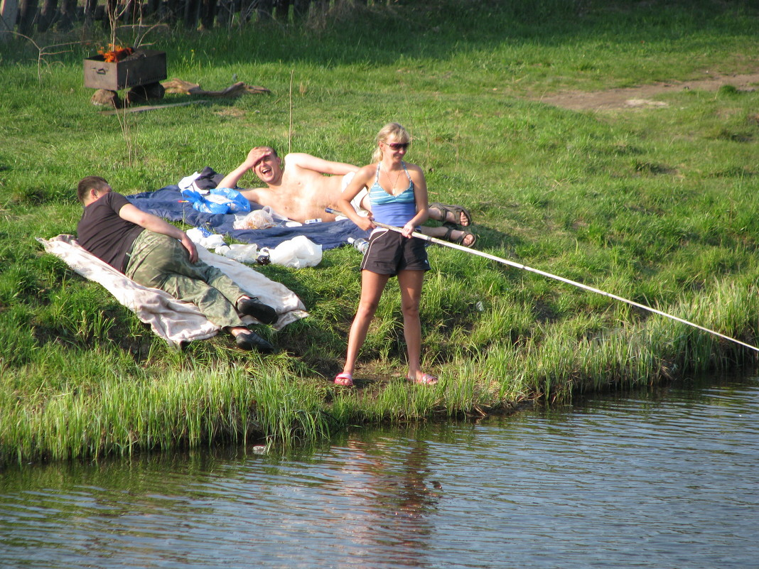 все готово к рыбалке фото