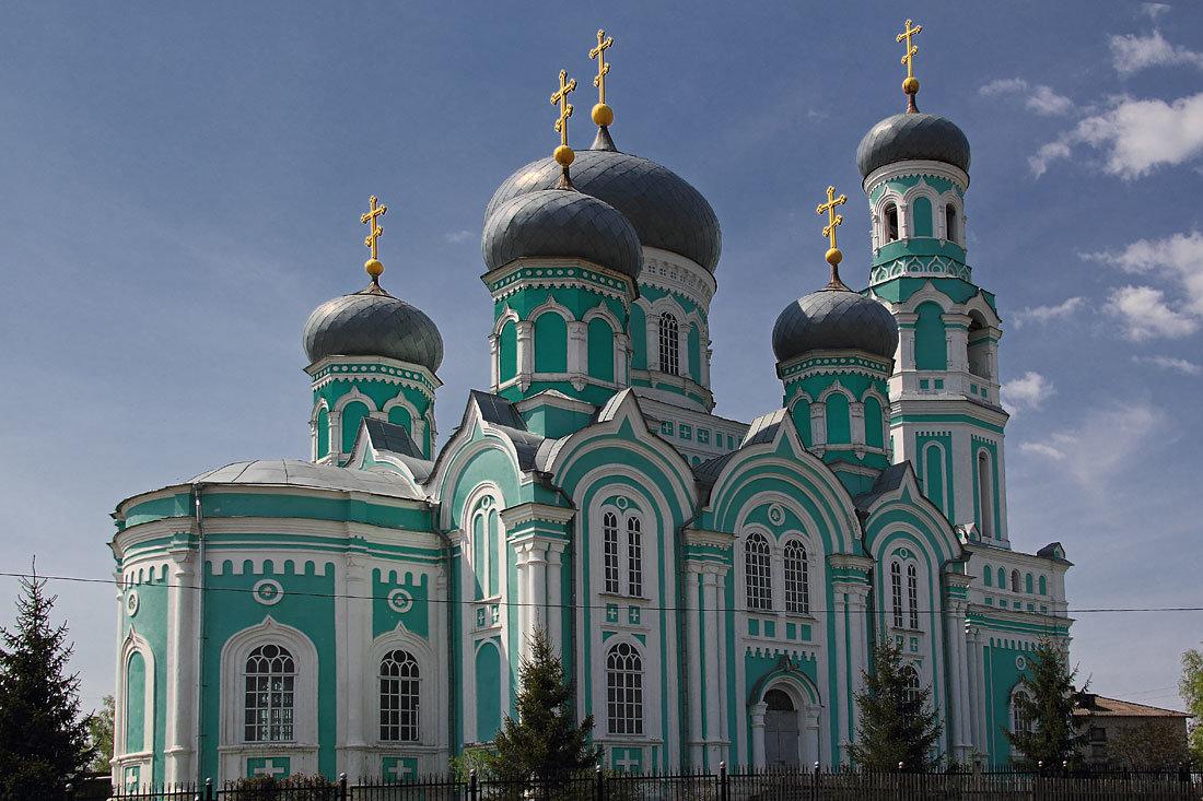 Собор  Дмитрия Солунского. Базарный Сызган. Ульяновская область - MILAV V