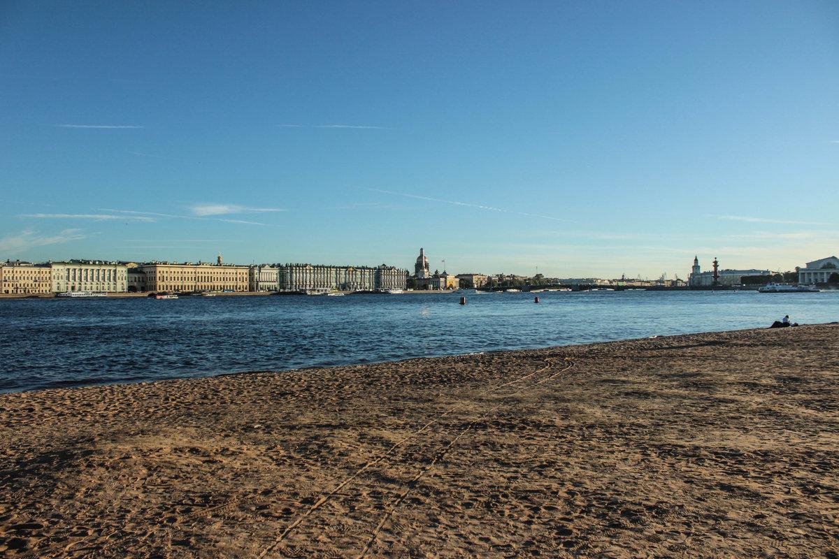 Пляж Петропавловской крепости - Алена Сизова