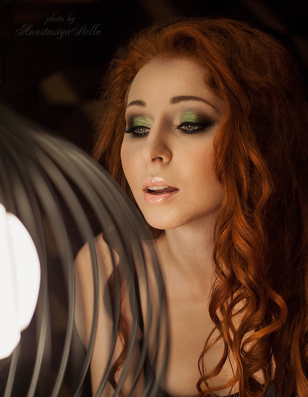 Глаза,как зеркало души...Мари,прекрасная Мари - Anastasia Stella