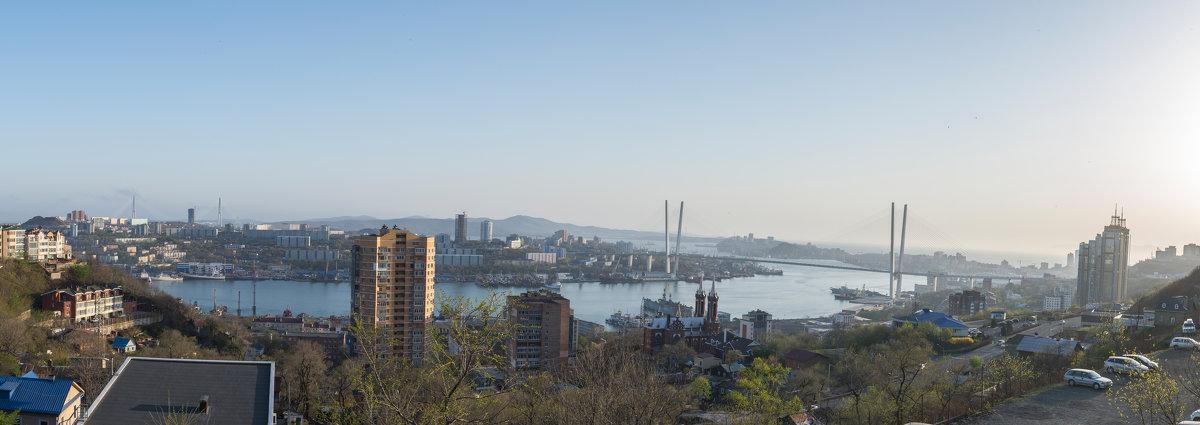Дневная панорама бухты Золотой Рог - Дмитрий