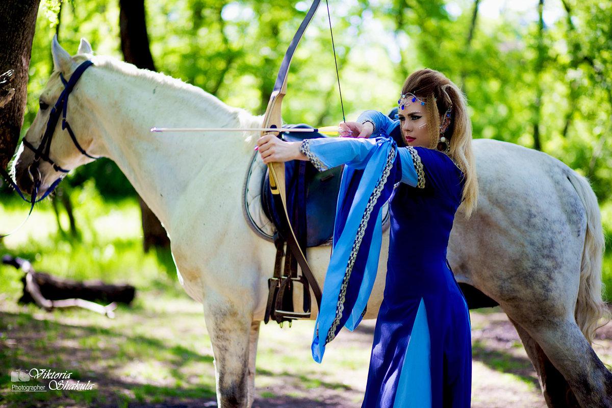 Ксения отважная охотница - Viktoria Shakula