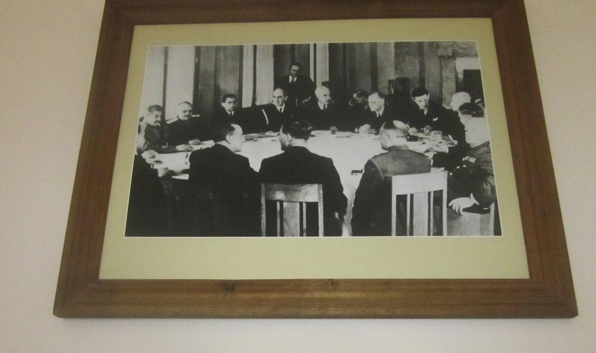 Фотография Крымской конференции руководителей трех союзных держав - татьяна