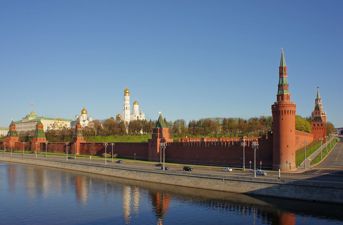 Москва весенняя - марк