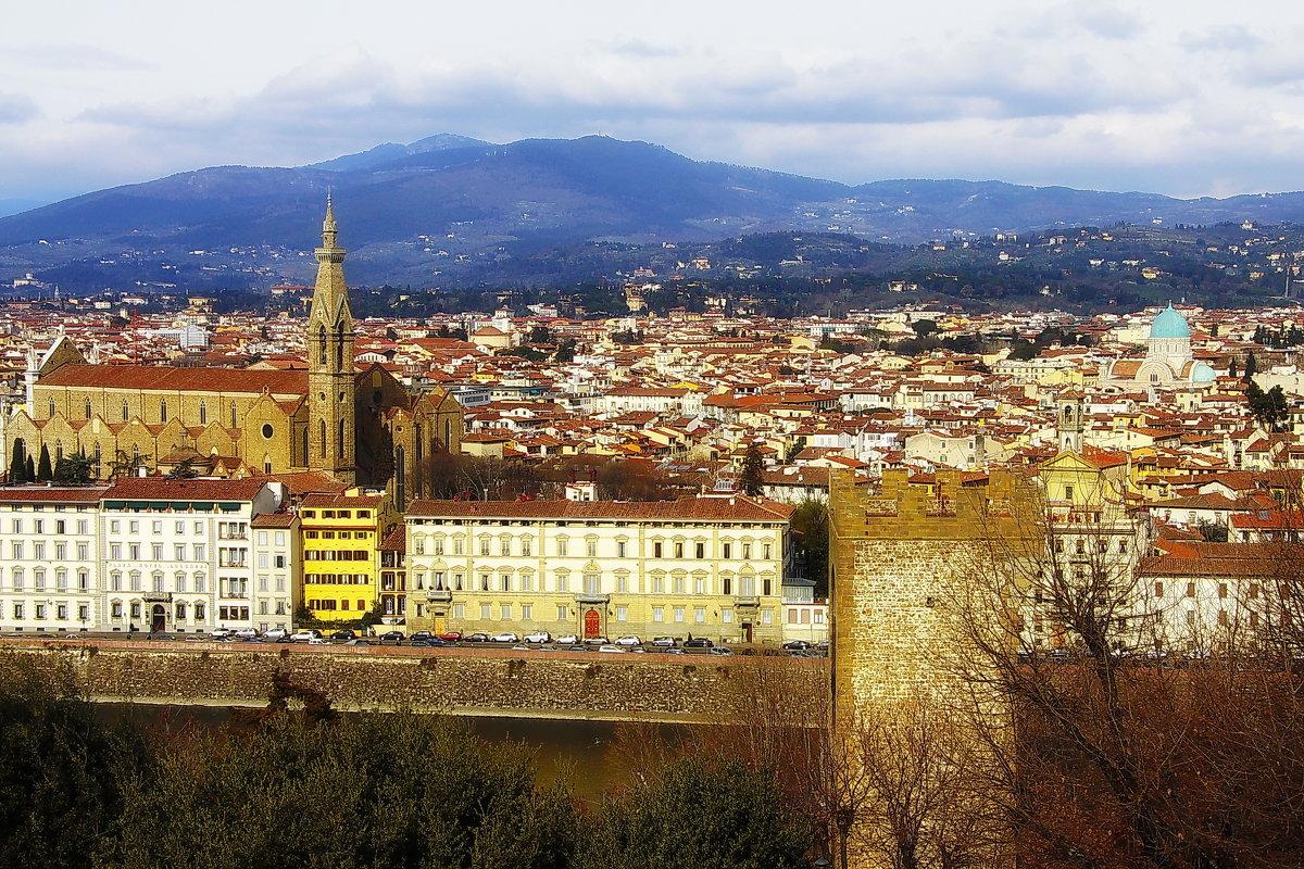 Правобережная Флоренция в желтый полдень - M Marikfoto
