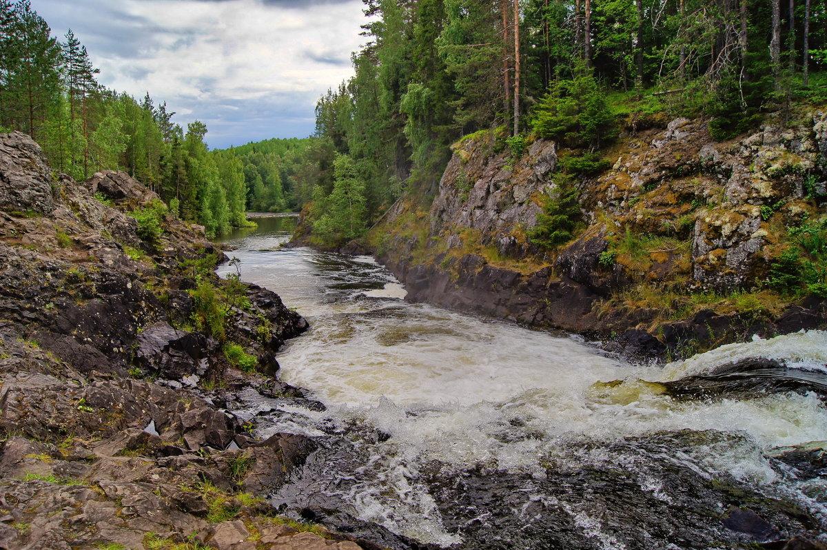 Пороги на реке Суна - Ольга СПб