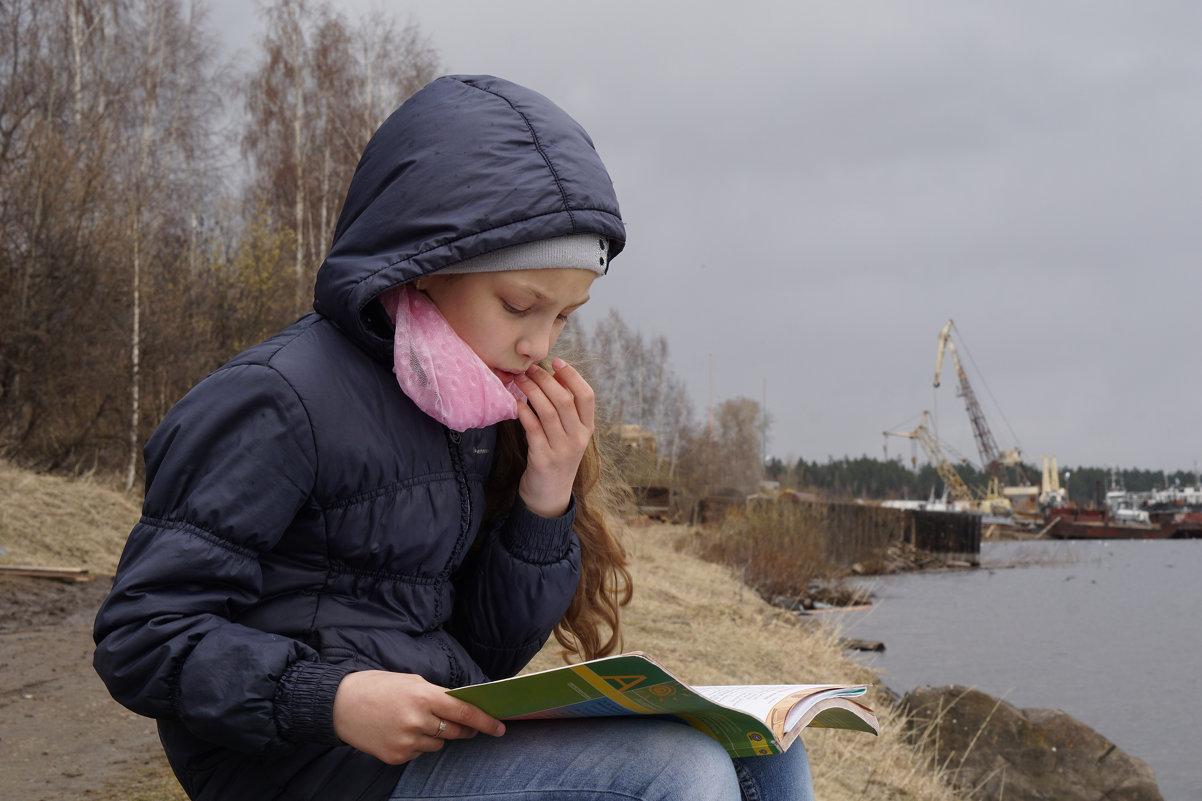 На берегу реки хорошо учить стихи! - Валентина Налетова