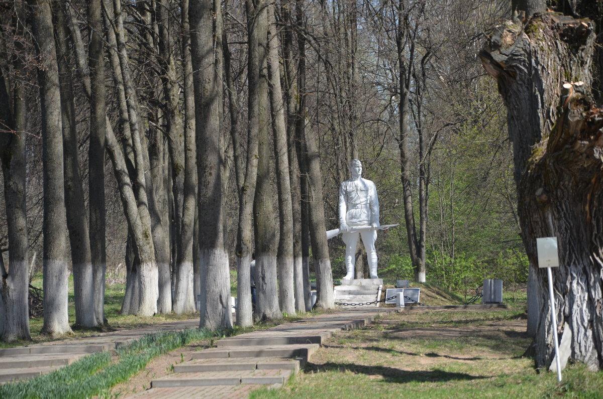 Братская могила в Серпейске - demyanikita