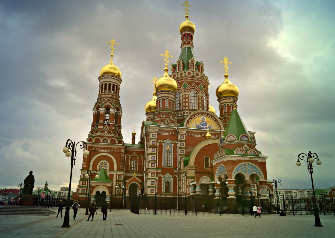 Площадь Девы Марии - Natalia Alekseeva