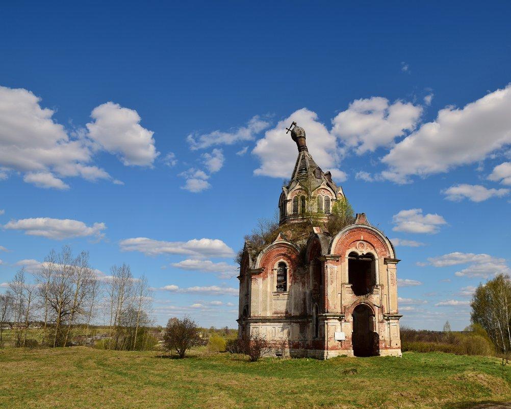 Церковь Николая Чудотворца в селе Гурьево-Воскресенское, Тверская область - Ирина Бирюкова
