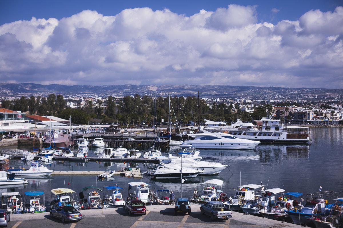 В порту Кипра - весна! - Екатерина