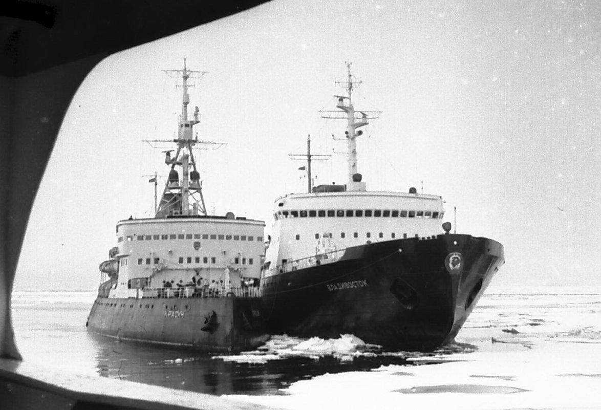 Карское море. Северный Морской путь.1972 год - Иволий Щёголев